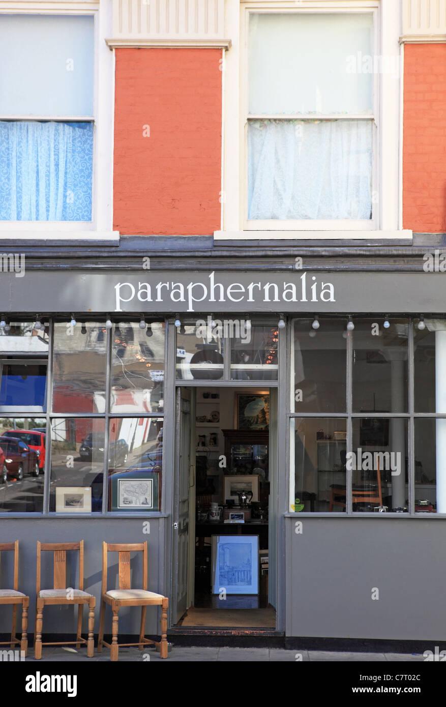 Shop nella città vecchia, Margate, Kent, Inghilterra Foto Stock