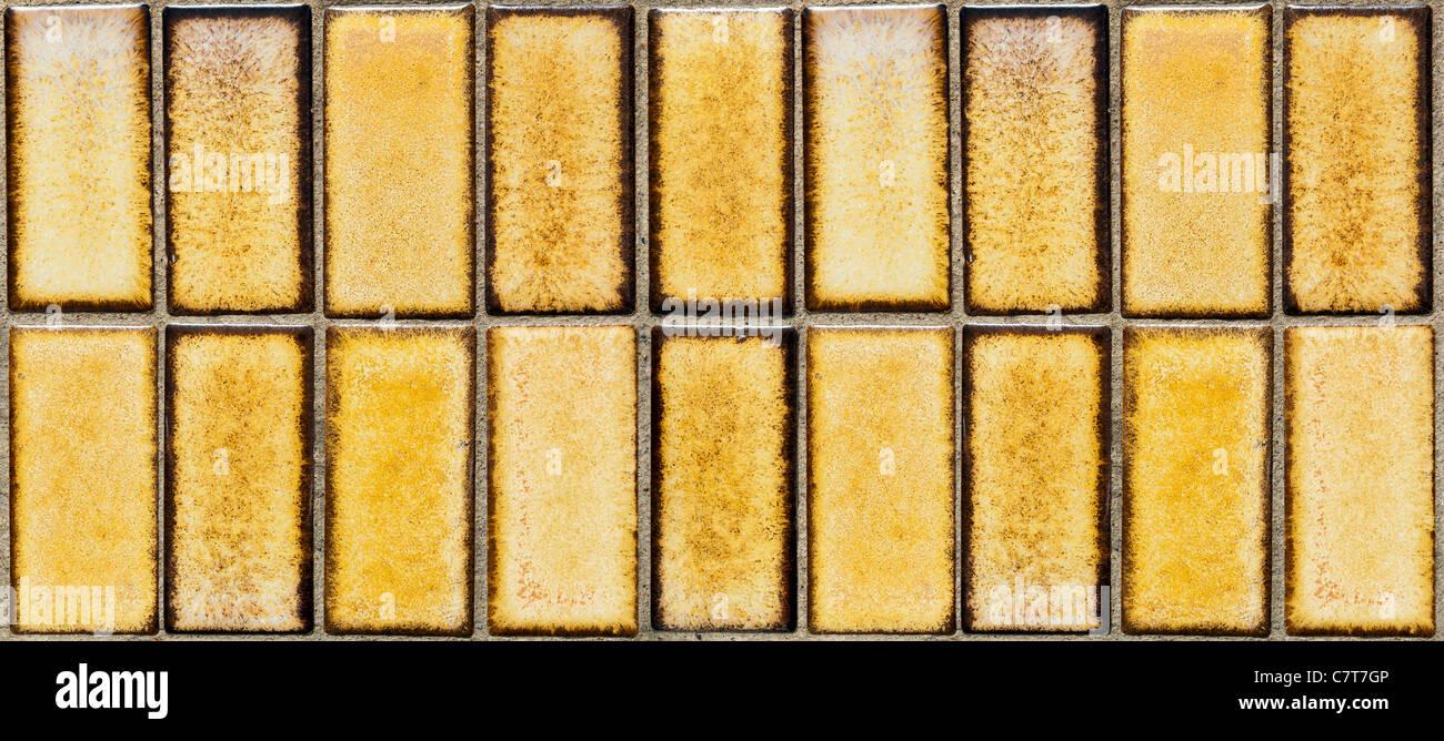 In stile retrò pavimento parete piastrelle come sfondo foto
