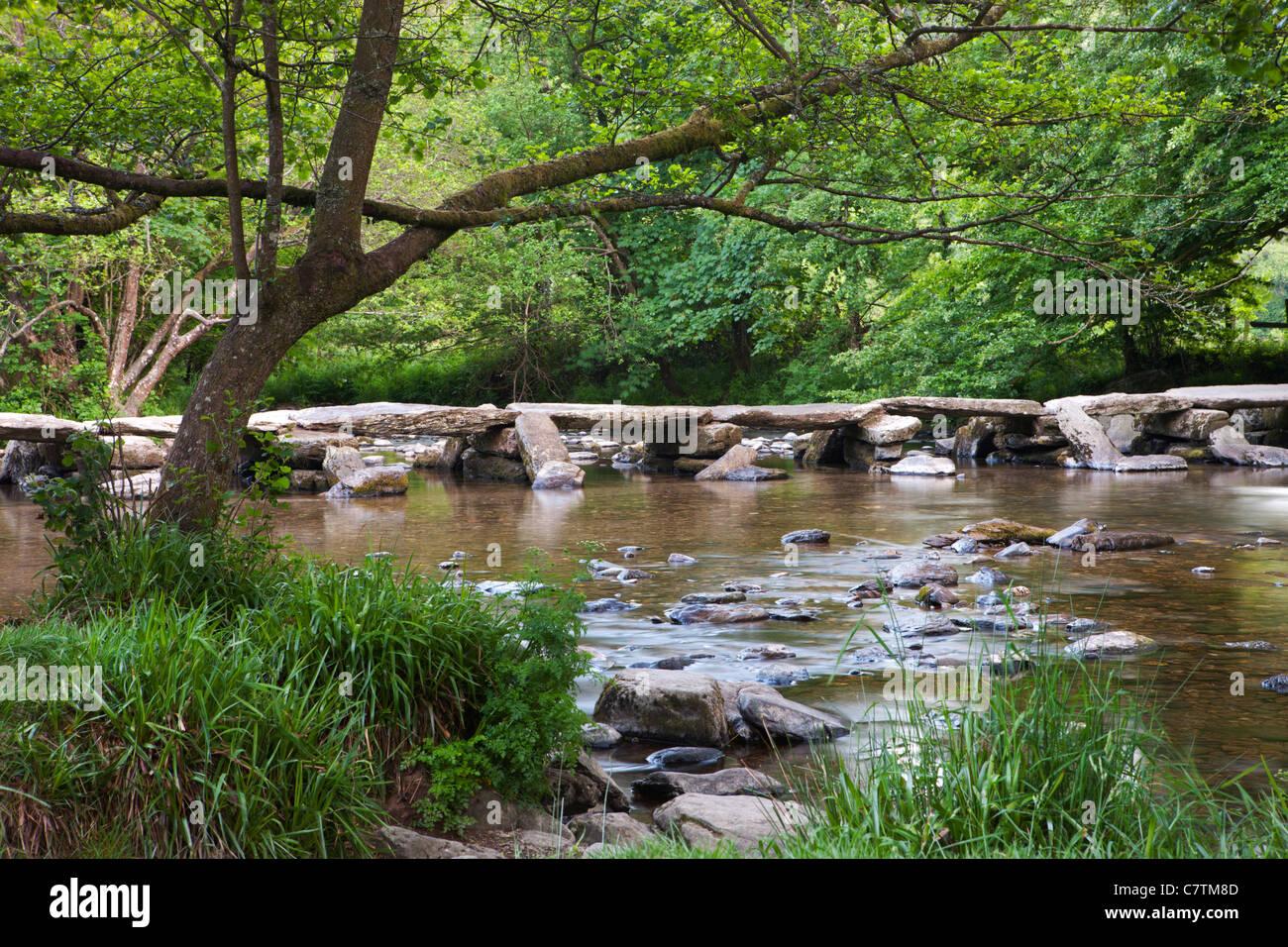 Tarr passi, Exmoor, Somerset Immagini Stock