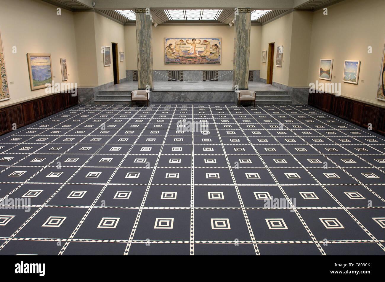 Svizzera, Zurigo, museo Kunsthaus Immagini Stock