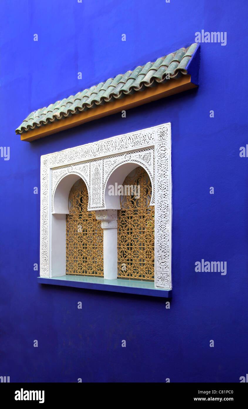 Finestra marocchina Immagini Stock