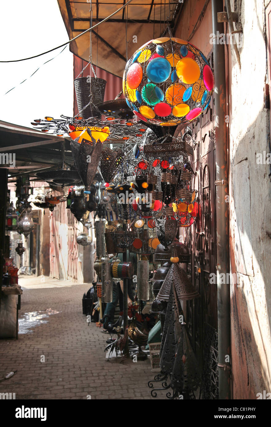 Souk di Marrakech Immagini Stock