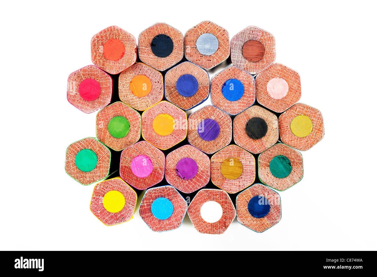 matita di colore Immagini Stock