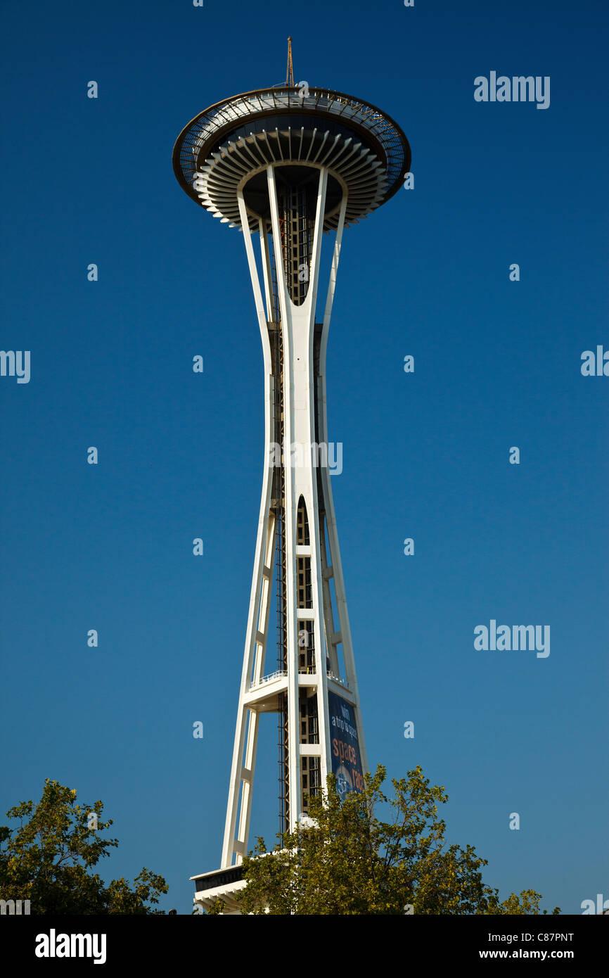 Lo Space Needle di Seattle Immagini Stock
