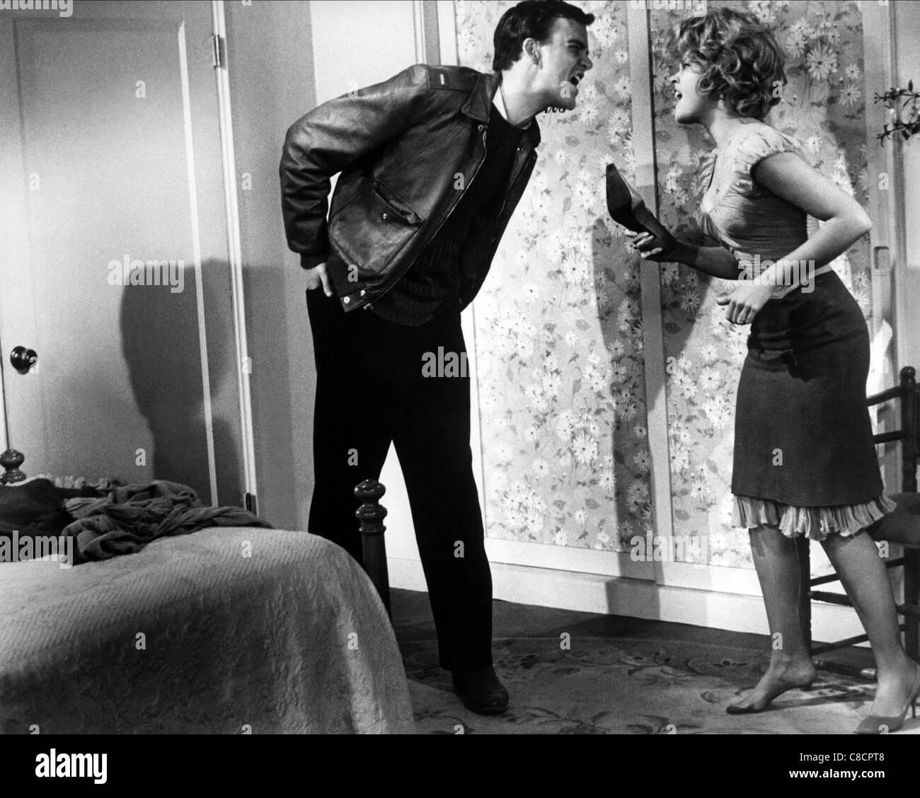 JIM HUTTON, Jane Fonda, PERIODO DI REGOLAZIONE, 1962 Immagini Stock