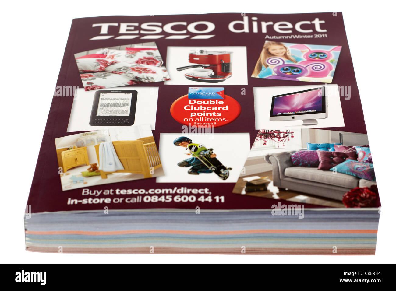 Tesco catalogo diretta per l'Autunno Inverno 2011 Immagini Stock