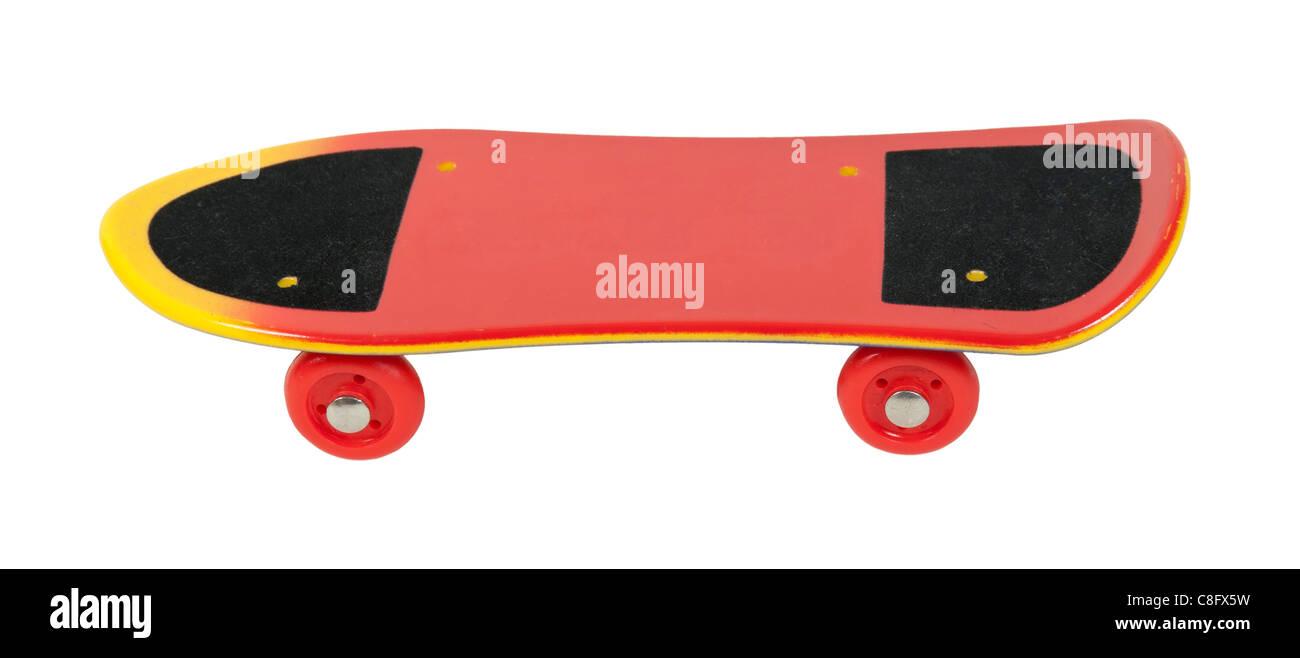 Skateboard utilizzato come semplice servizio di trasporto per i giovani adulti - percorso incluso Immagini Stock