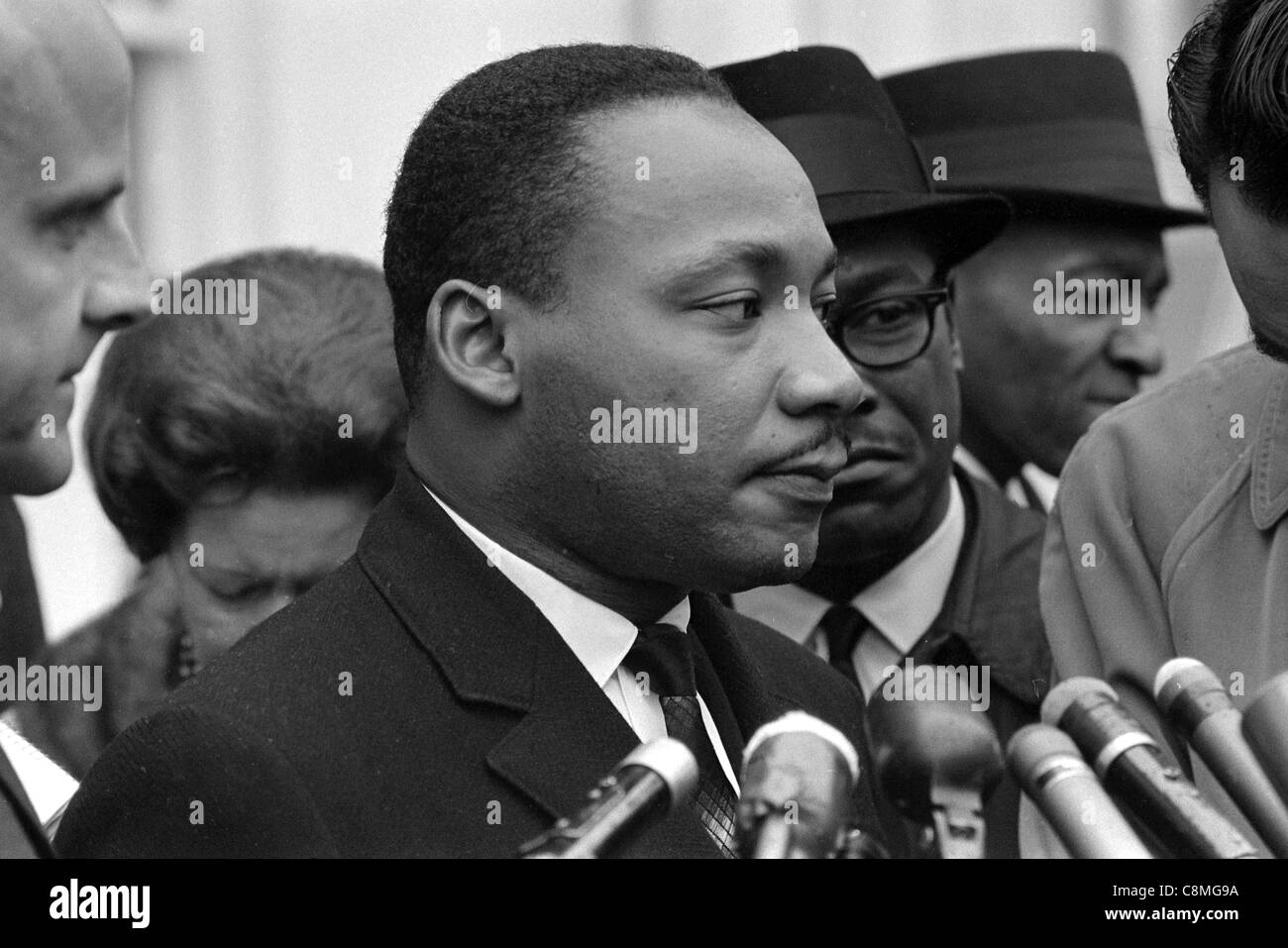 Martin Luther King Jr. Foto Stock