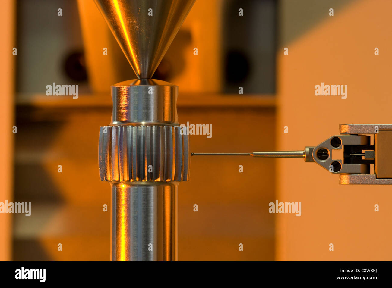 Ingegneria di precisione sonda del dispositivo di calibrazione per il controllo della qualità Immagini Stock