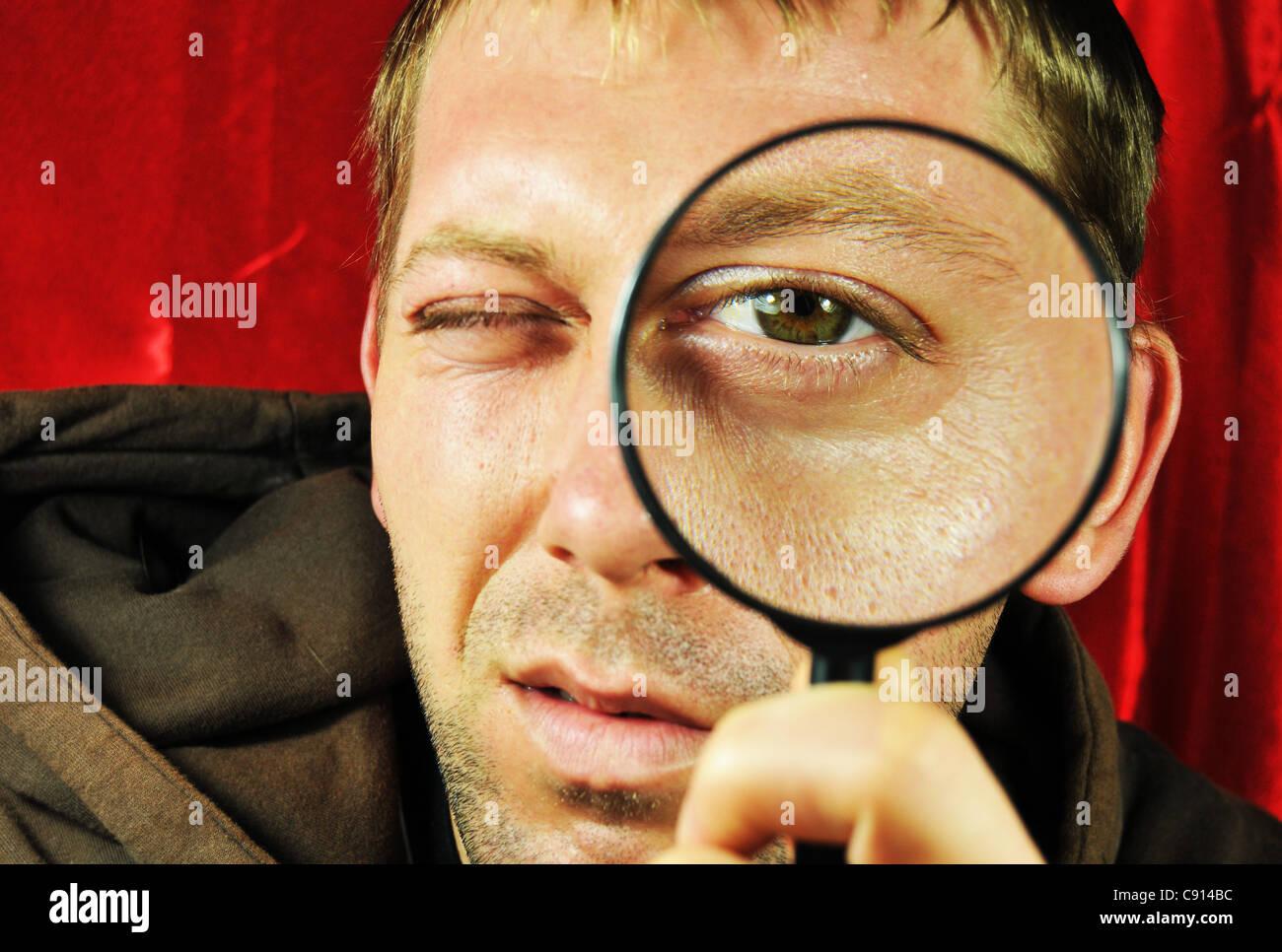 Concetto di ricerca Immagini Stock