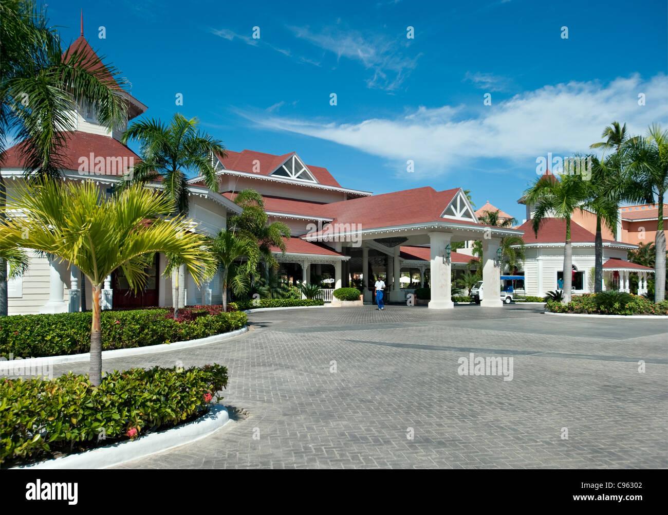 Gran Bahia Principe Hotel Ambra, Punta Cana Repubblica Dominicana Immagini Stock