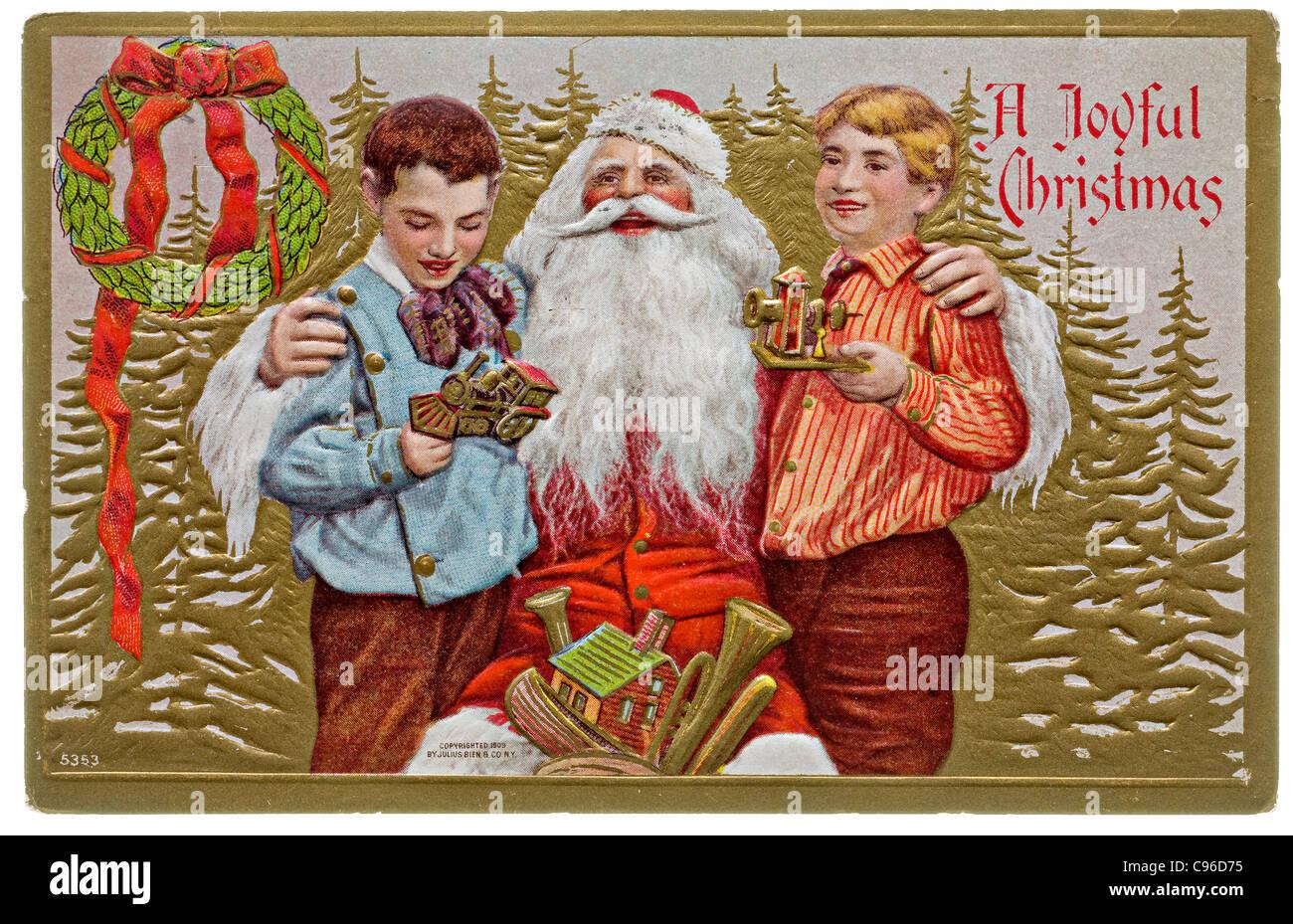 Cartoline Di Natale Vintage Da Stampare.Primi Anni Del 1900 Natale Immagini Primi Anni Del 1900