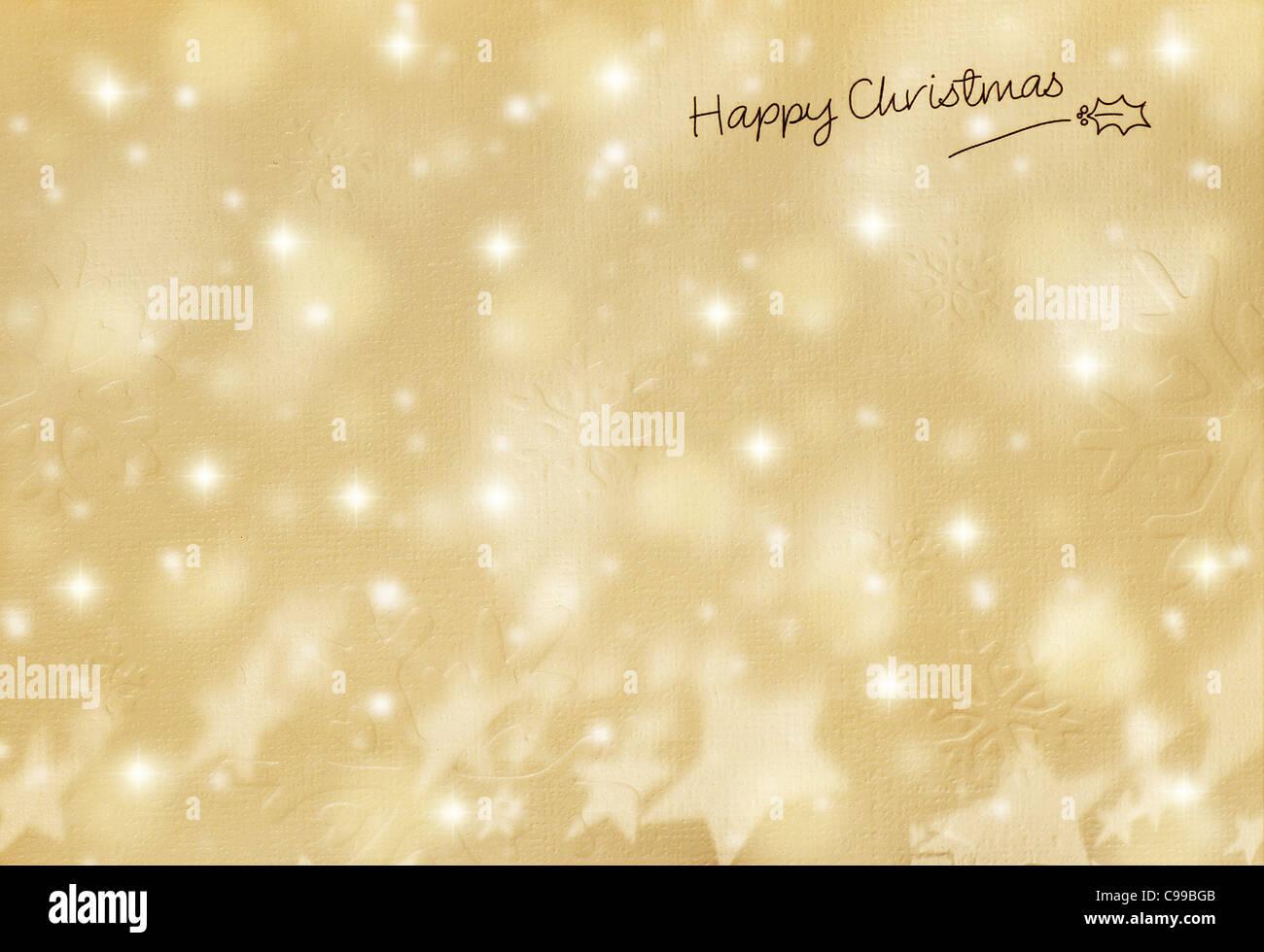 Sfondi Natalizi Oro.Splendido Oro Felice Natale Carta Vacanze Inverno Sfondo