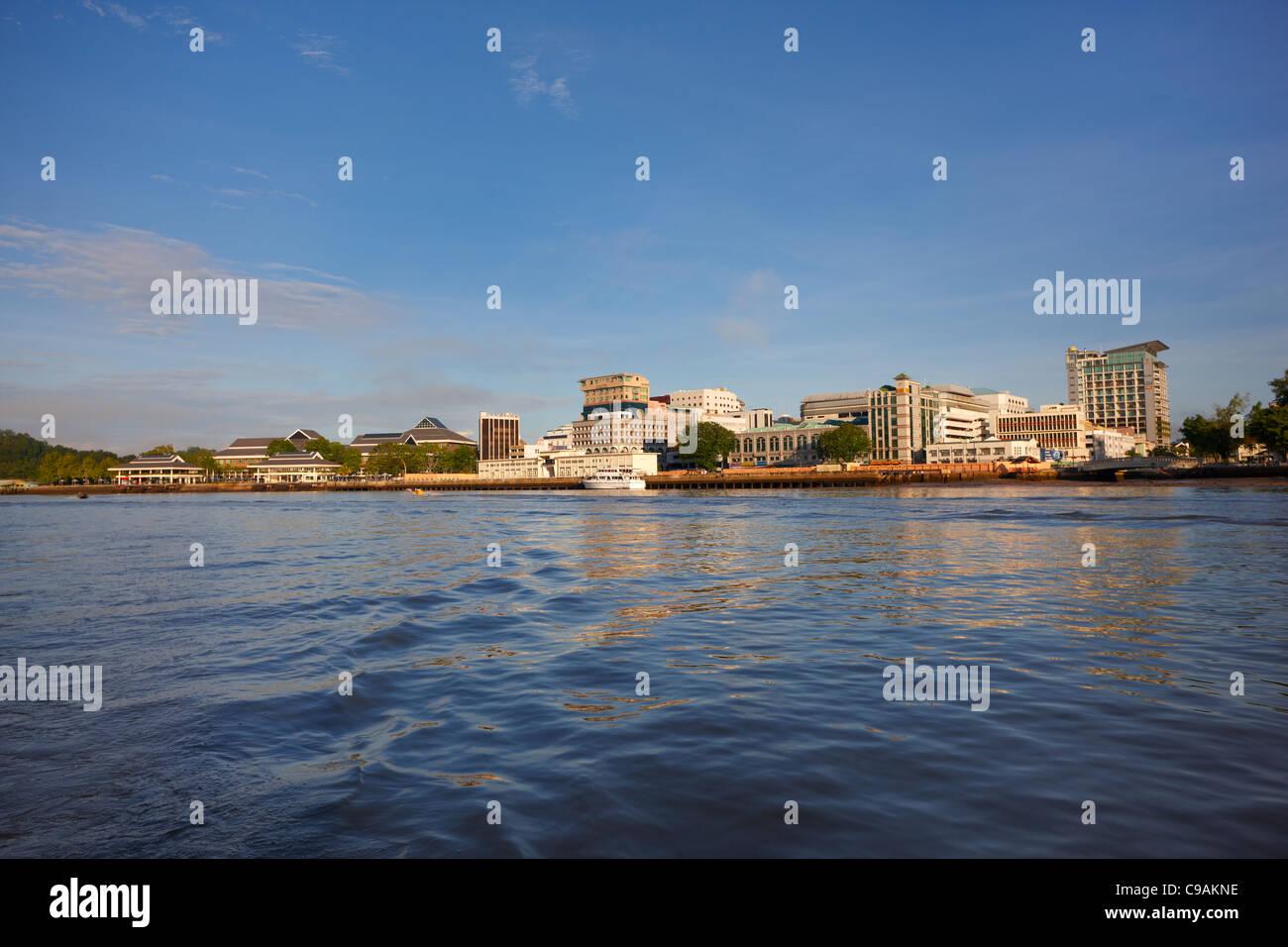 Waterfront, Bandar Seri Begawan, Brunei Darussalam, Asia Immagini Stock