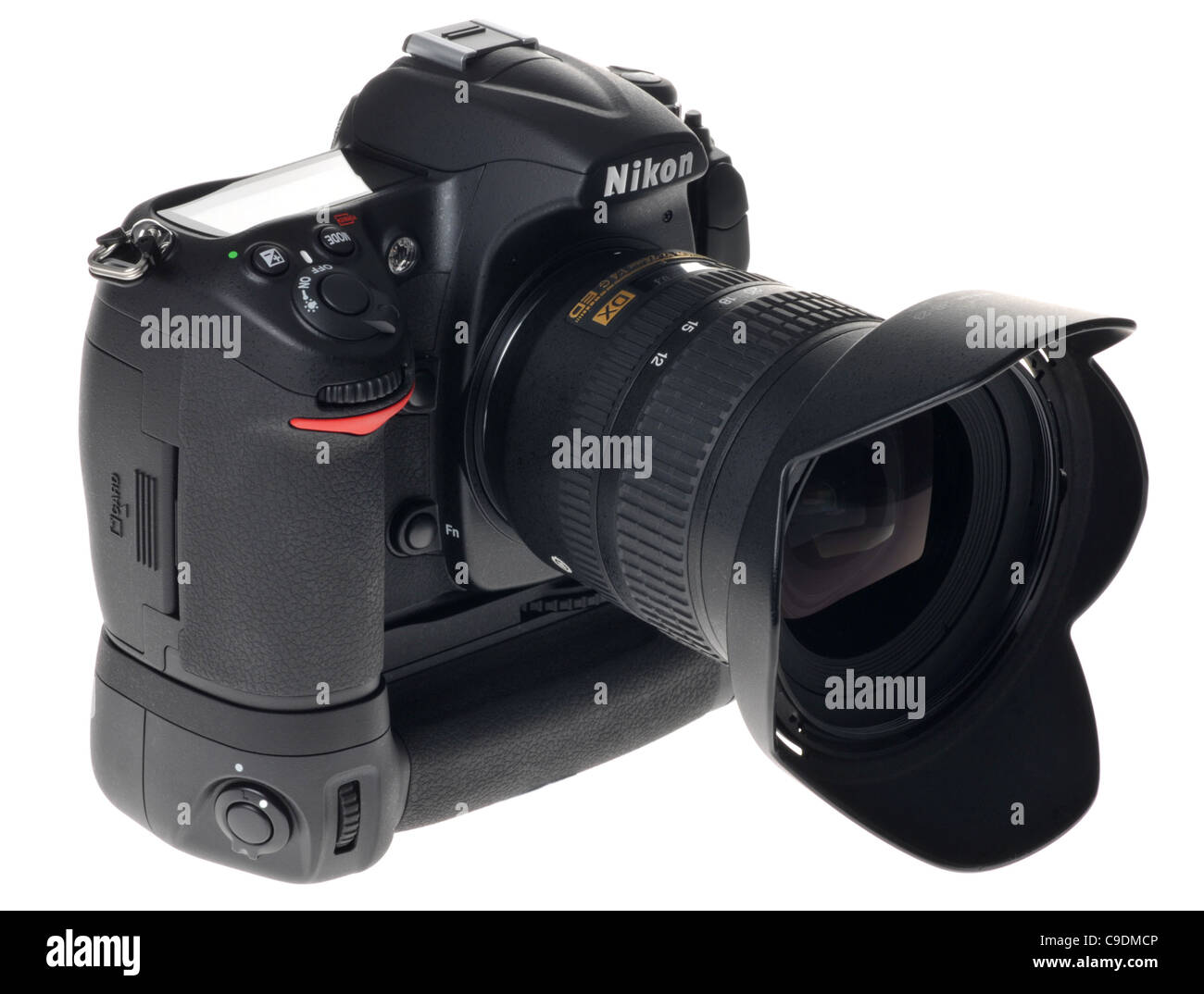 Fotocamera digitale Nikon Immagini Stock