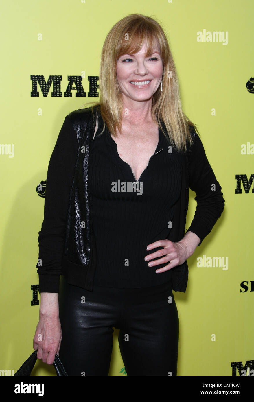 MARG HELGENBERGER Marley. LOS ANGELES PREMIERE HOLLYWOOD Los Angeles California USA 17 Aprile 2012 Immagini Stock
