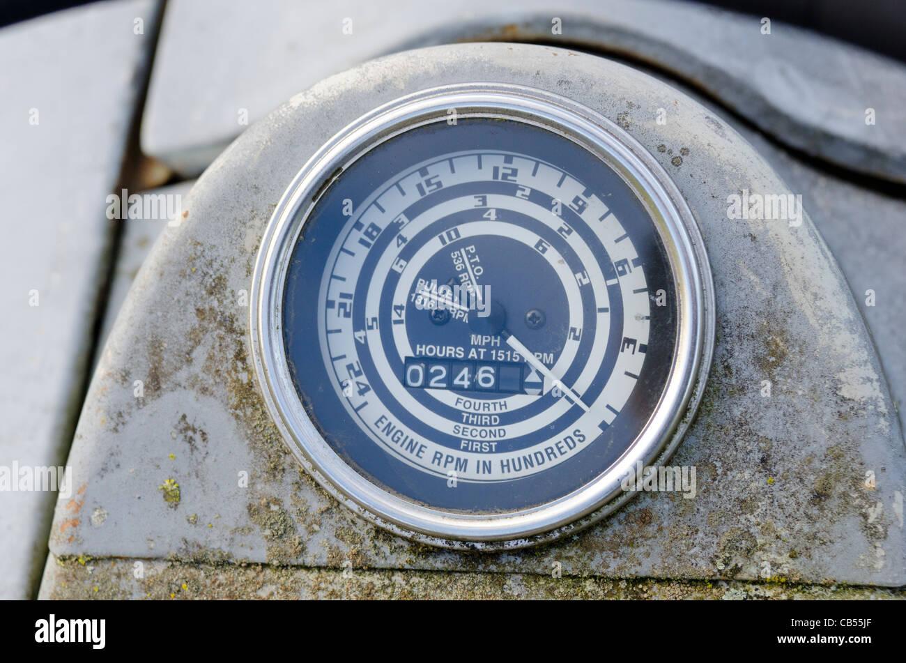 Antico trattore Ford gage Immagini Stock