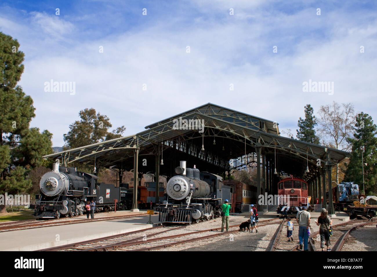 Città di viaggio, Griffith Park, Los Angeles, California, Stati Uniti d'America Immagini Stock