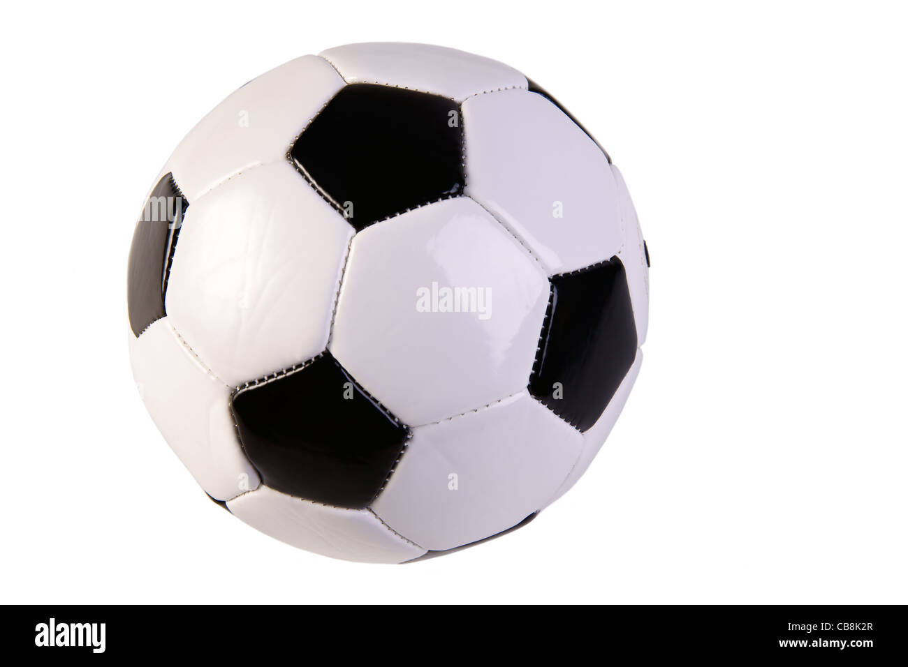 Il calcio e la concorrenza Immagini Stock