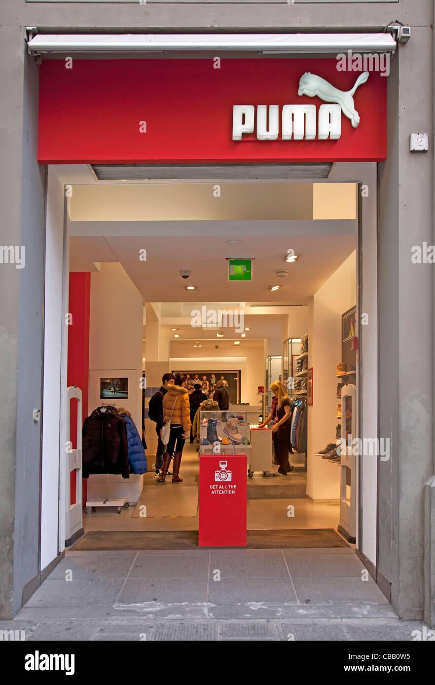 negozio puma firenze