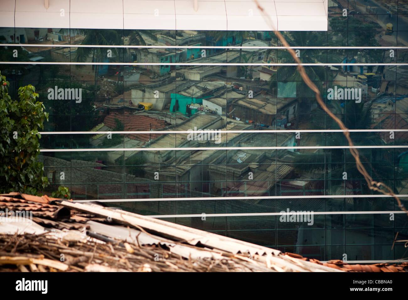 Città di elettronica, Bangalore, Karnataka, India. Immagini Stock