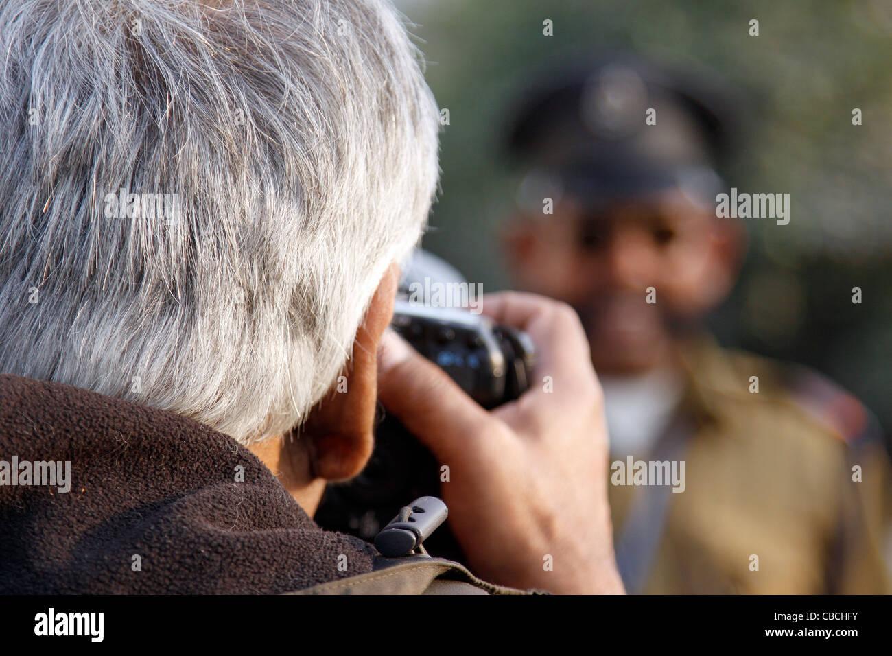 Telecamera, obiettivo riprese, tiro, fotografo, Photo Shoot, temi fotografici, reportage. ,Natura, avventura.Photo Immagini Stock