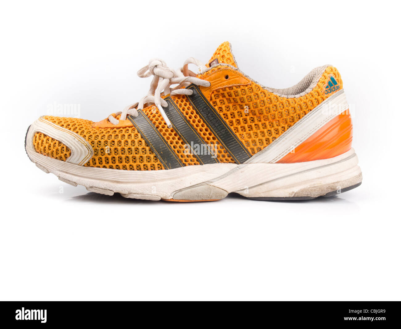 sale retailer 207aa 9aaaa Adidas arancione scarpe da corsa Immagini Stock