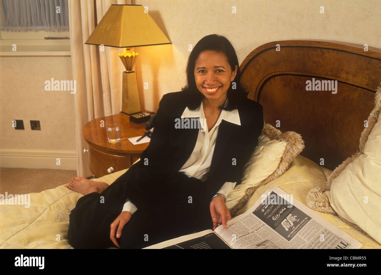Rini Soewandi indonesiano donna business degli anni novanta UK HOMER SYKES Foto Stock