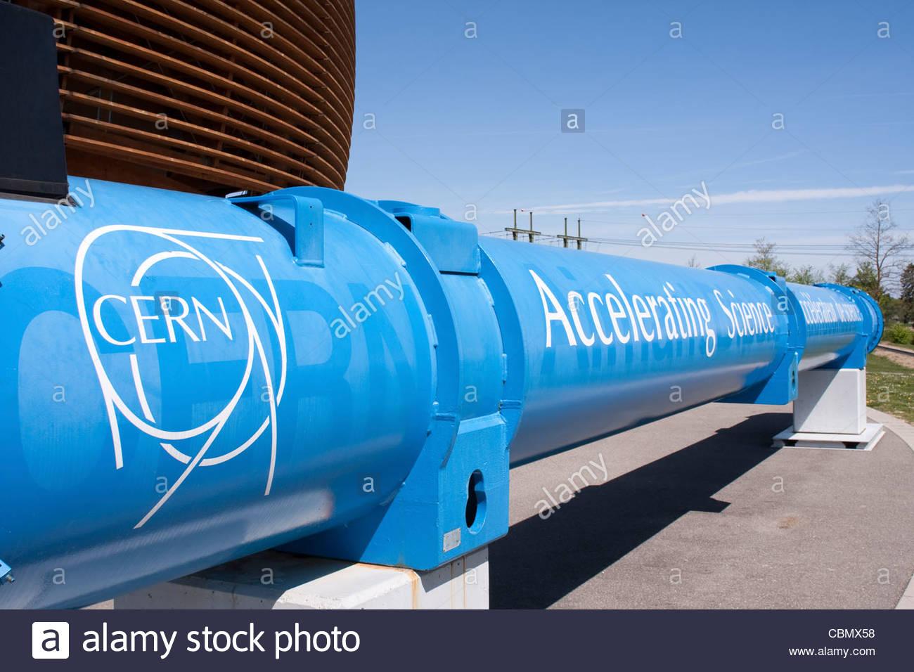 Il Cern accelerando la scienza, Organizzazione europea per la ricerca nucleare (Cern, Svizzera Immagini Stock