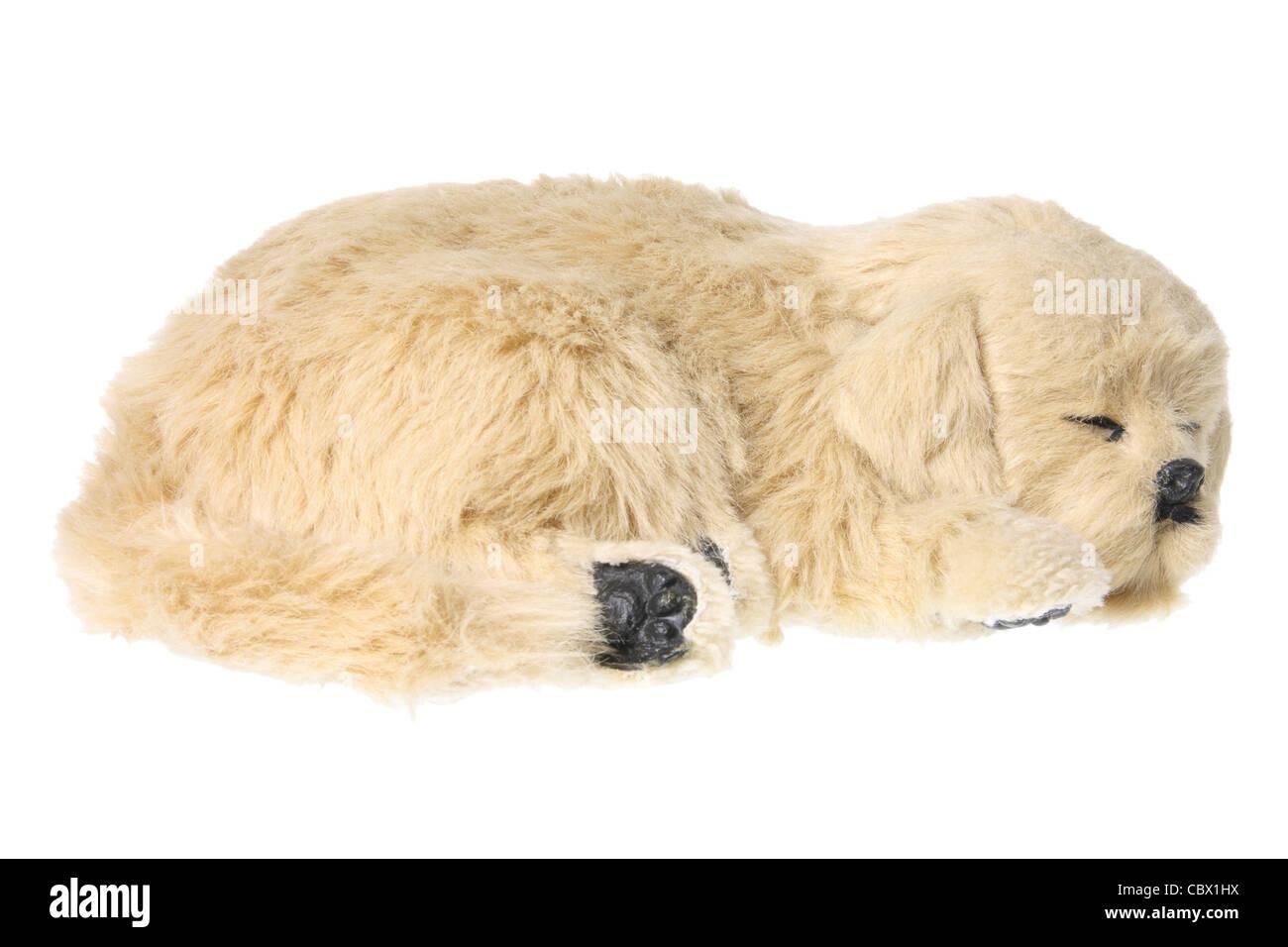 Cane di giocattolo molle Immagini Stock