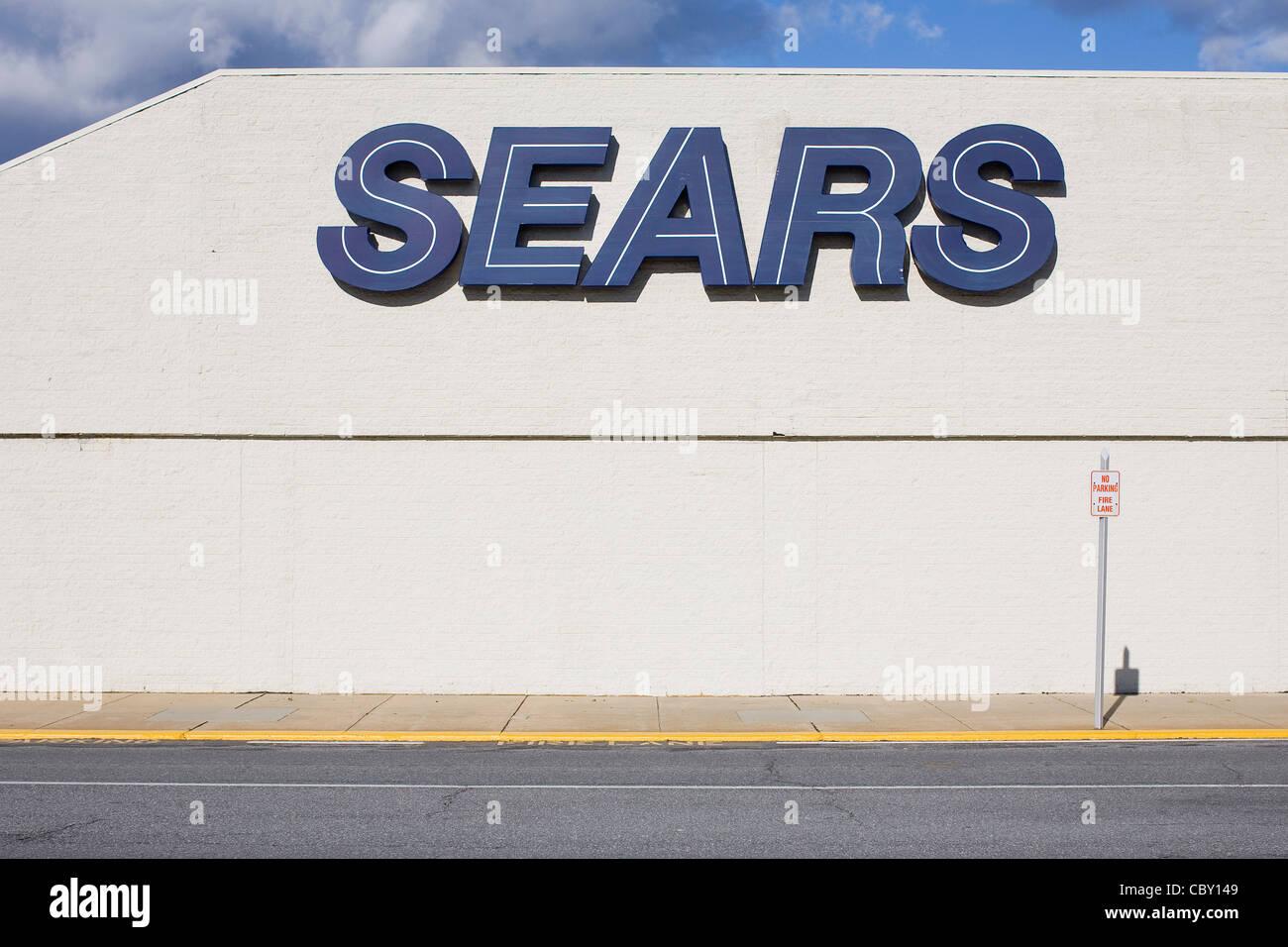 Un Sears retail store. Immagini Stock