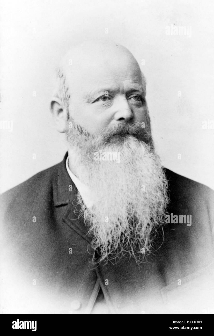 George Steck, pianoforte costruttore Immagini Stock