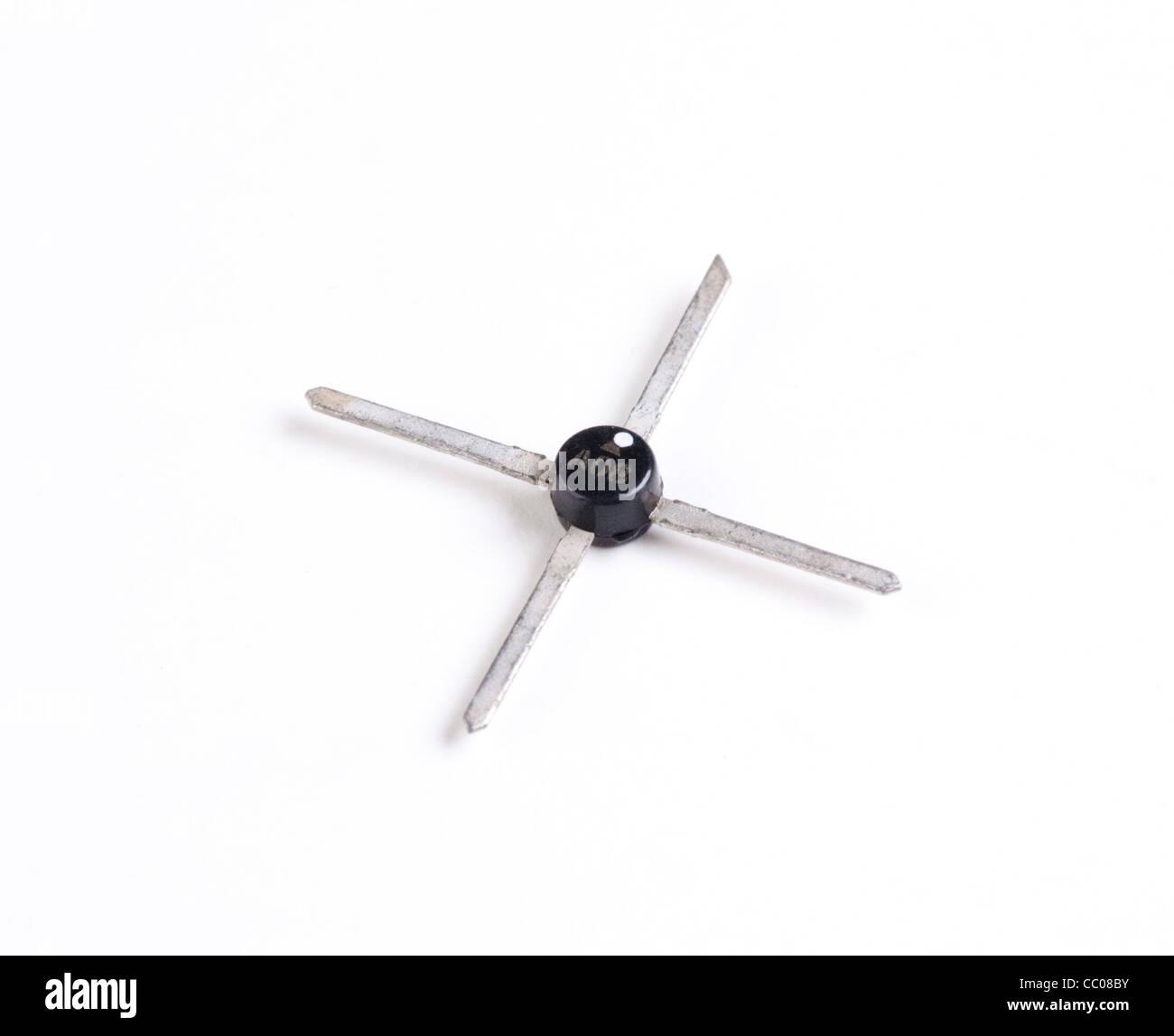 RF / frequenza microonde transistor usato per amplificatori a microonde Foto Stock