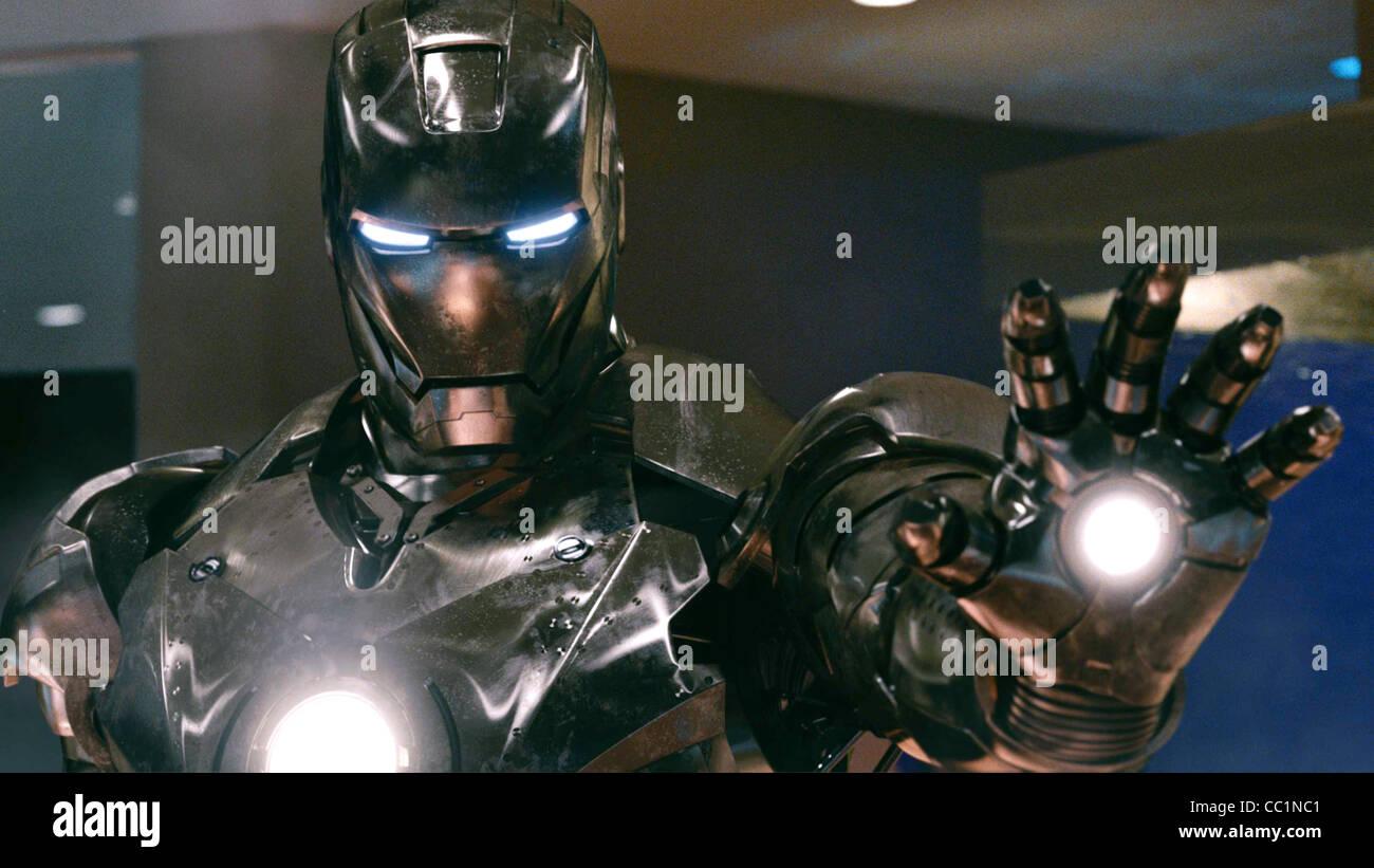 MARK II ARMOR tuta di Iron Man 2 (2010) Immagini Stock
