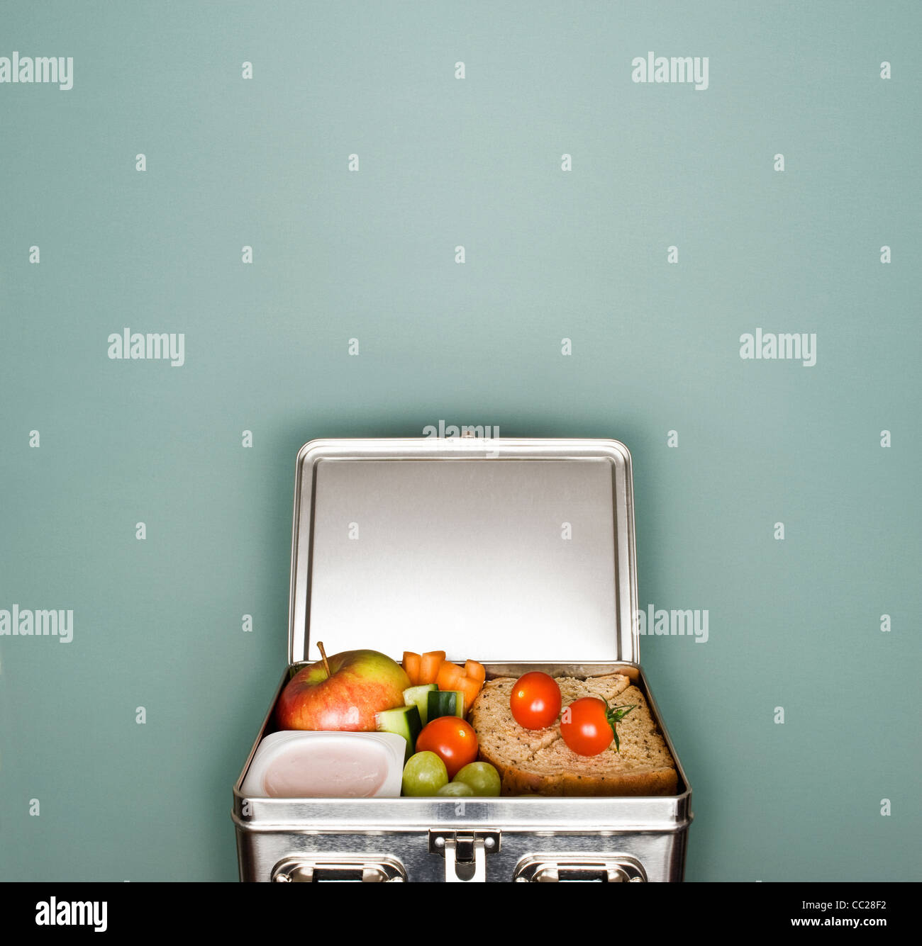 Un lunch box Immagini Stock