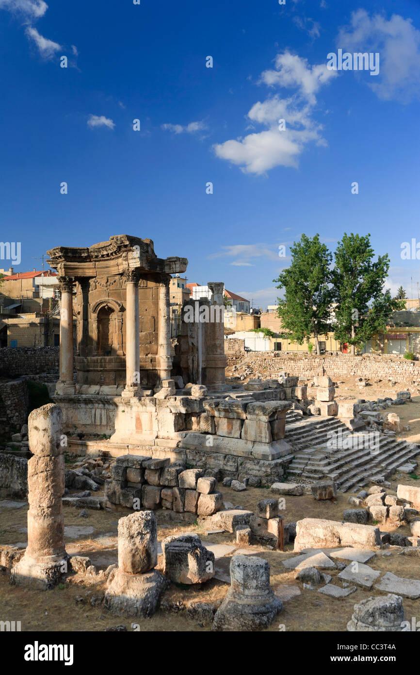 Il Libano, Baalbek, Tempio di Venere Immagini Stock
