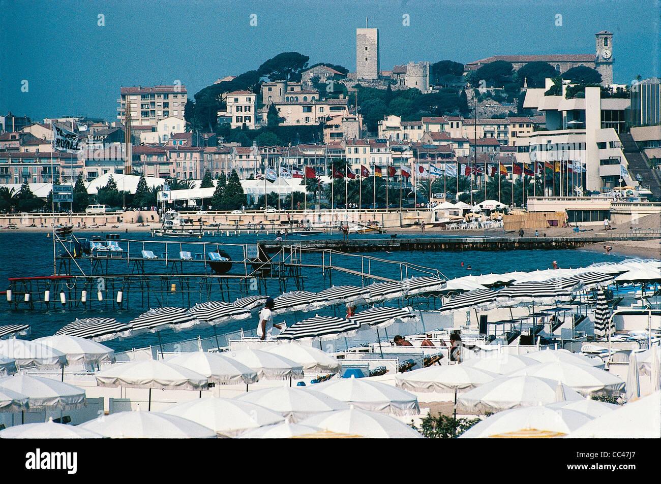 Il Francia_Cannes Croisette Immagini Stock