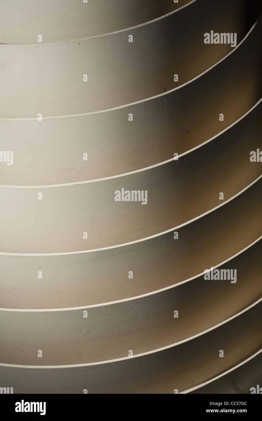 Curve concentriche Immagini Stock
