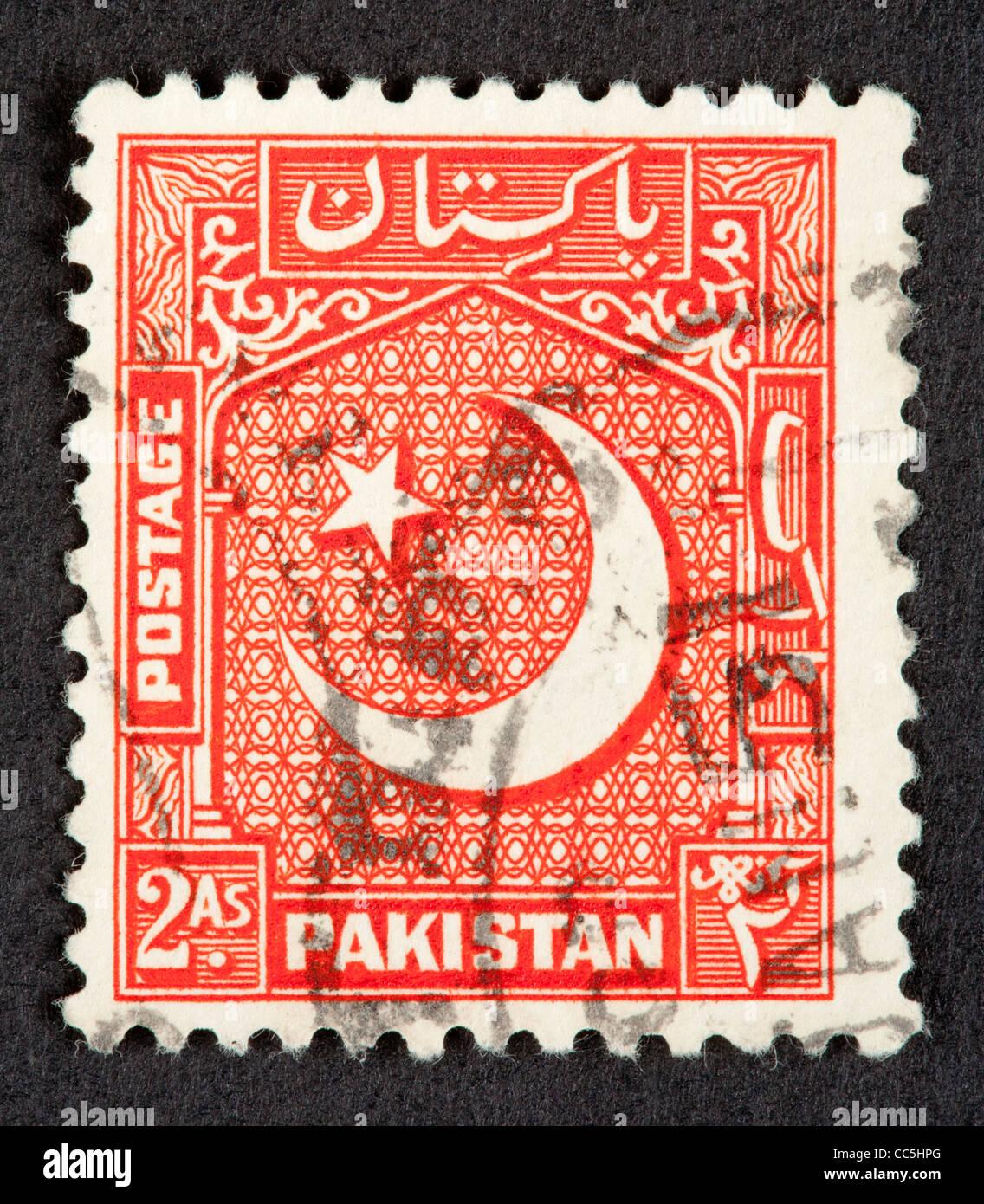 Il pakistan francobollo Immagini Stock