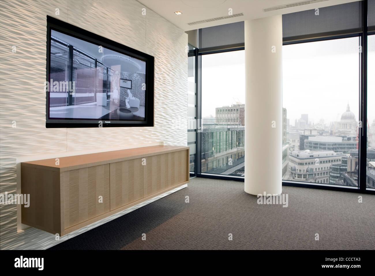 Ufficio Legno E Vetro : Ufficio moderno fit out combinando pietra legno granito e vetro