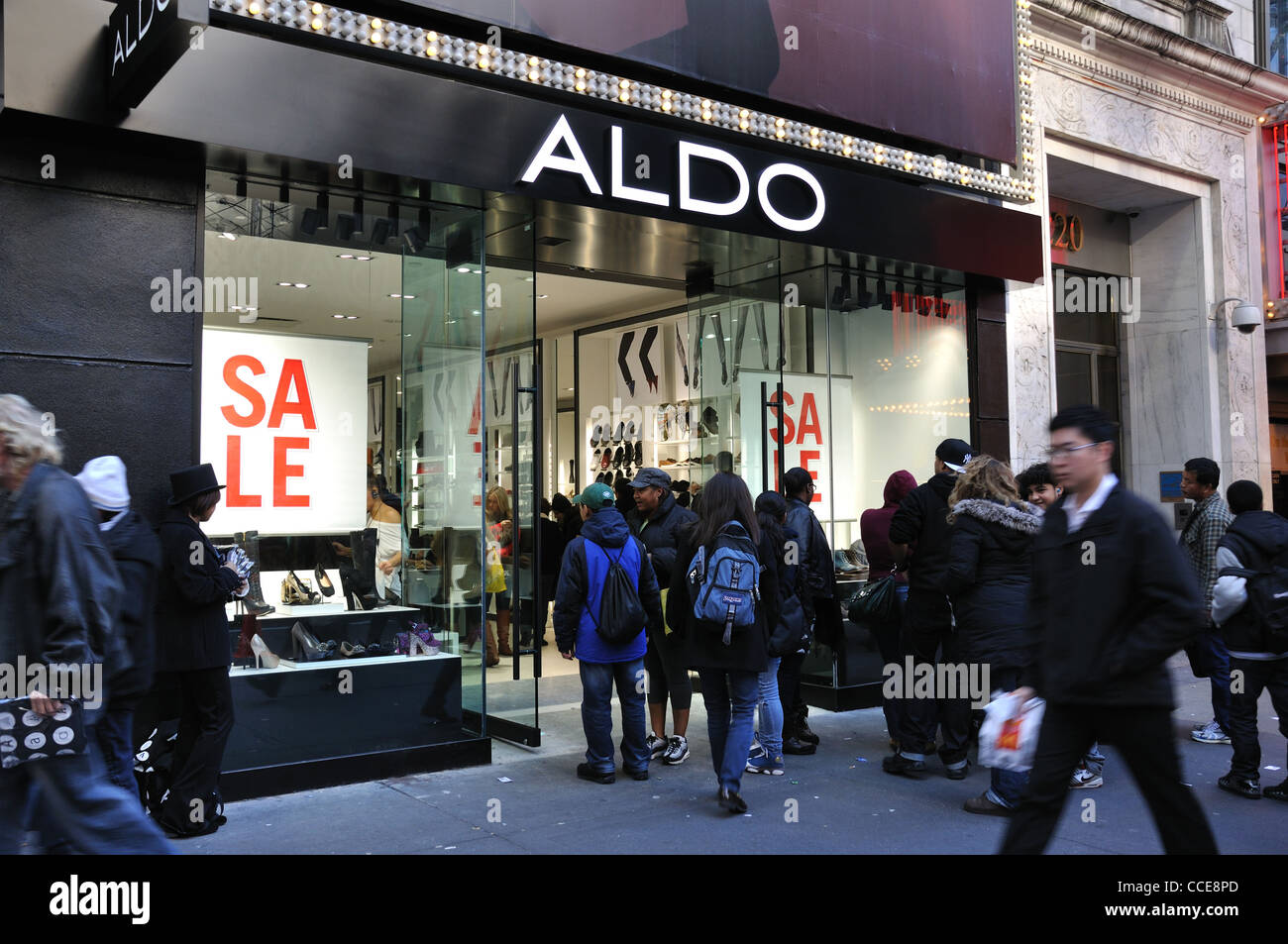 best cheap 6ce3f d0262 Aldo negozio di scarpe, New York, Stati Uniti d'America Foto ...