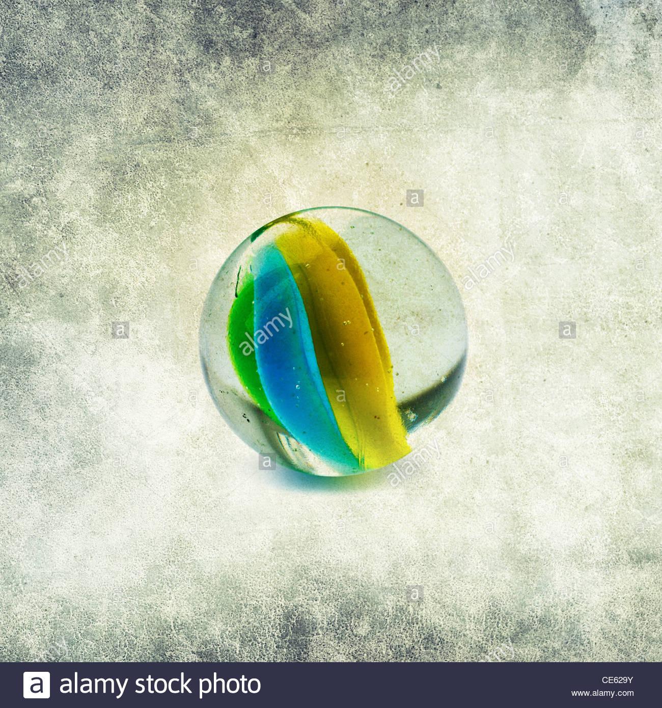 marmo di vetro Immagini Stock