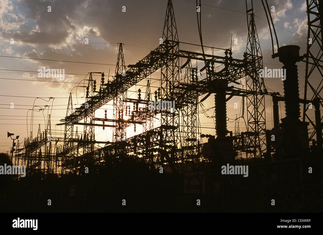 HMA 85818 : hindalco power plant ; renusagar ; Uttar Pradesh ; india Immagini Stock
