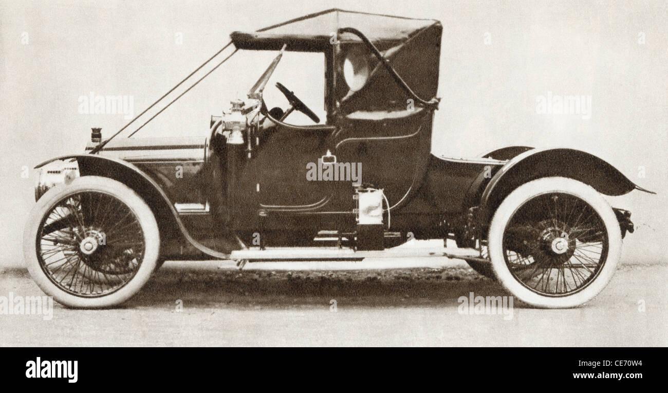 """1910 Austin """"Ascot' auto. Dalla storia di 25 anni densi di eventi in immagini, pubblicato 1935. Immagini Stock"""