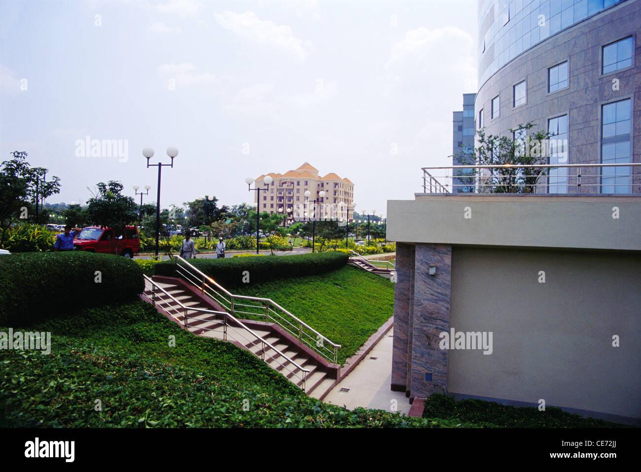International Tech Park la costruzione di scale ; bangalore ; Karnataka ; India Immagini Stock