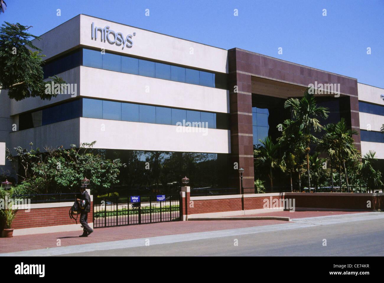 Infosys edificio Electronic City bangalore karnataka india Immagini Stock