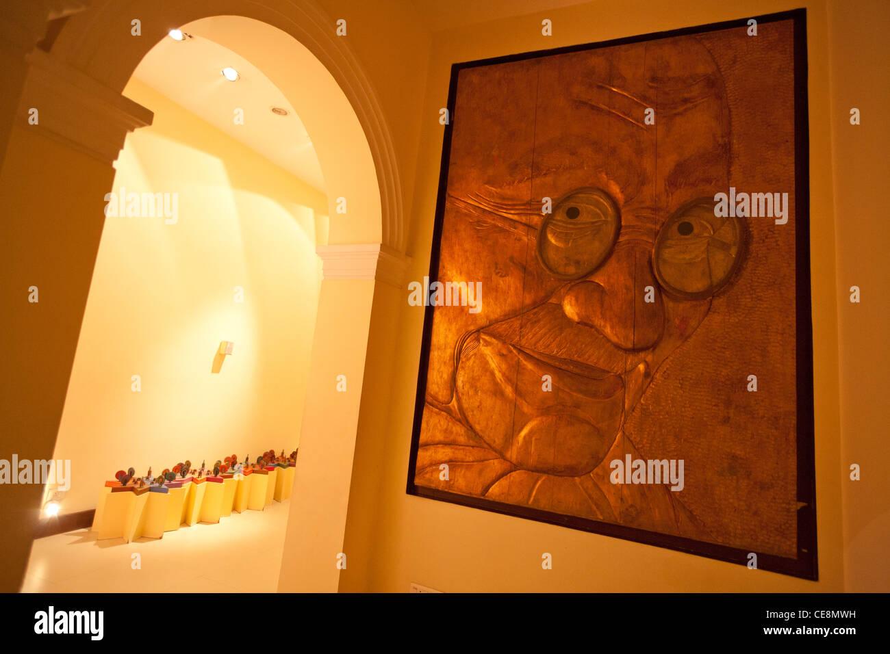 Gandhi Smriti, la casa del Mahatma Gandhi per ultimi 144 giorni della sua vita, prima che egli è stato ucciso Immagini Stock