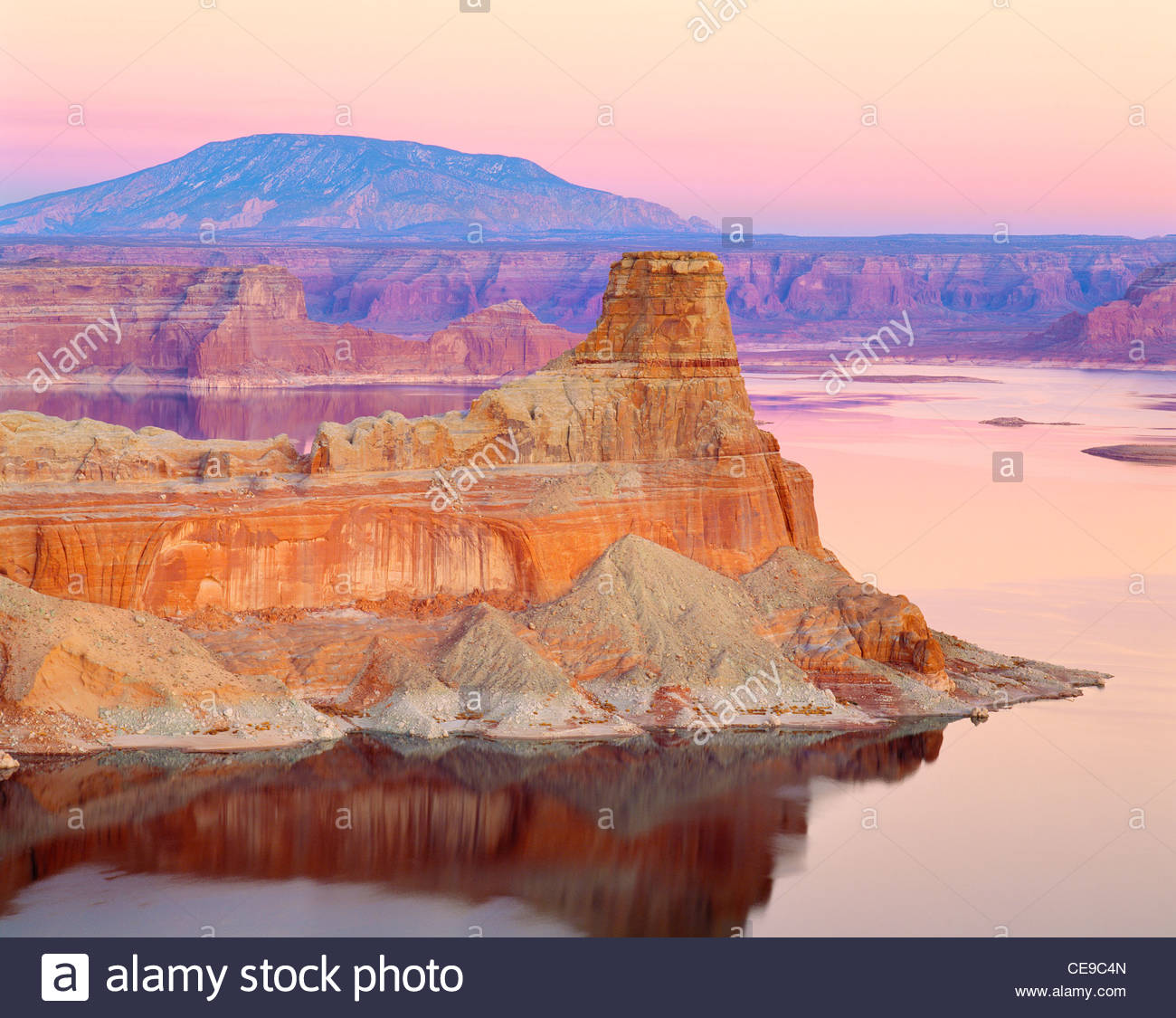 'Lake Powell' [Glen Canyon National Recreation Area] Utah Immagini Stock