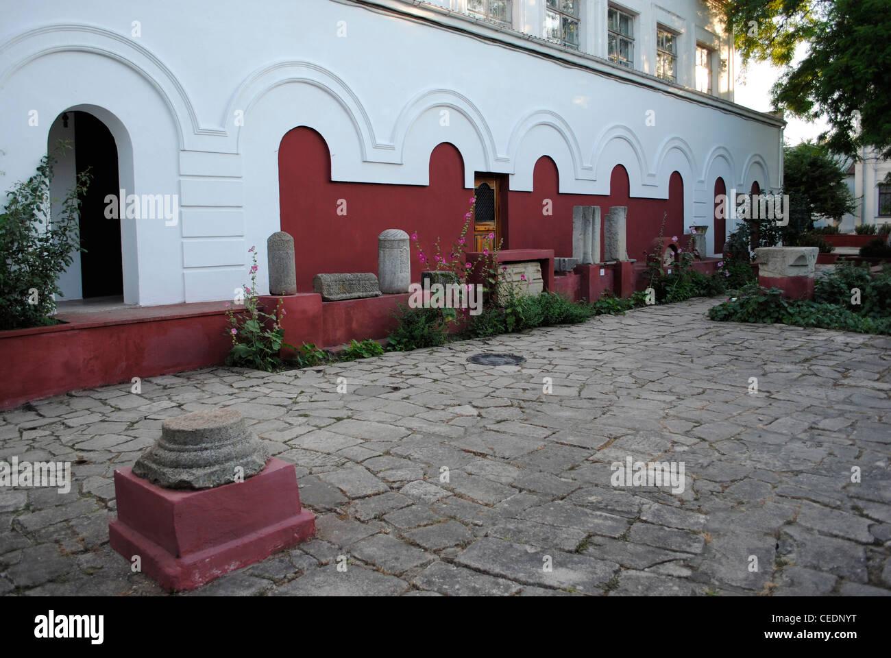 L'Ucraina. Repubblica autonoma di Crimea. Teodosia Museo di studi regionali. Fondata nel 1811 da il sindaco Immagini Stock