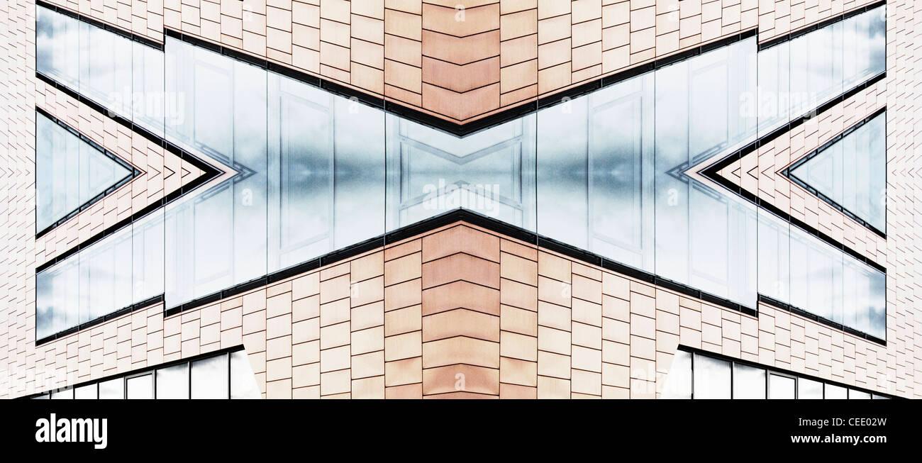 Abstract architettura Immagini Stock